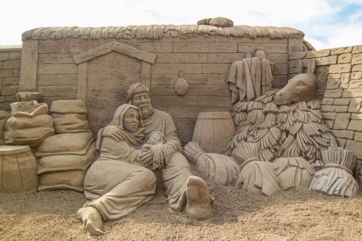 Belen de Arena, hiekasta rakennettu jouluseimi