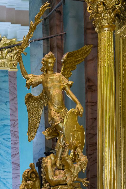 Enkelipatsas Pietari-Paavalin katedraalissa, Pietari