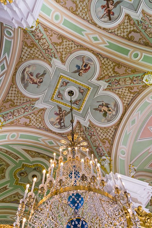 Pietari-Paavalin katedraalin katto, Pietari