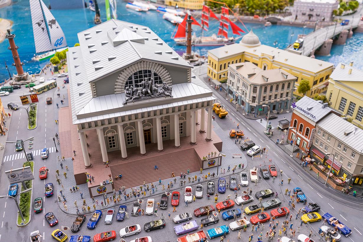 Grand Maketin Pietarin Pörssitalo, Venäjän kansallinen pienoismallinäyttely, Pietari