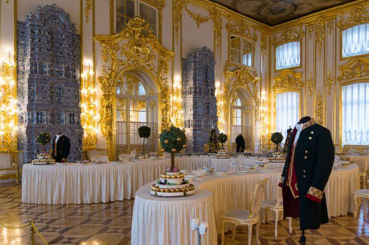 Katariinan palatsi sisältä