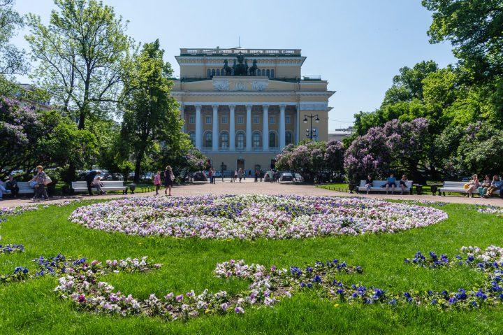 Katariinan puisto ja Aleksanterin teatteri, Pietari