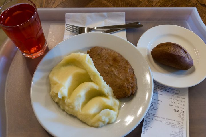 Shchelkunchik -ruokalan lounas, Pietari
