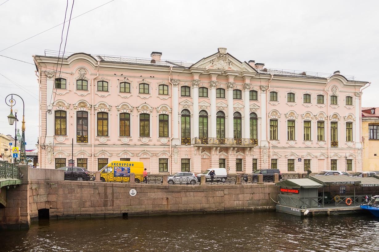 Stroganovin palatsi, Venäläisen museon filiaali
