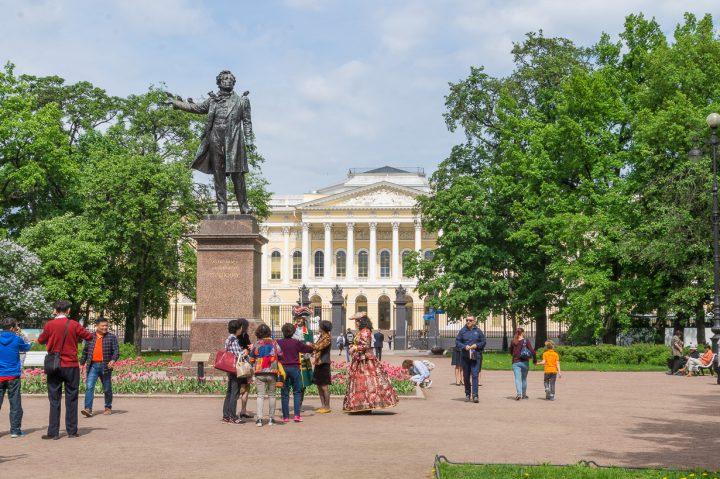 Venäläisen taiteen museo, Mikaelin palatsi, Pietari