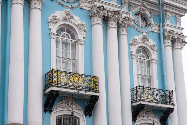Pietarin Pyhän Nikolaoksen merikatedraalin parvekkeet