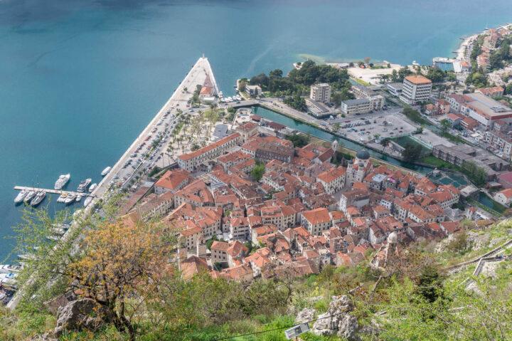 Kotorin vanhakaupunki, Montenegro