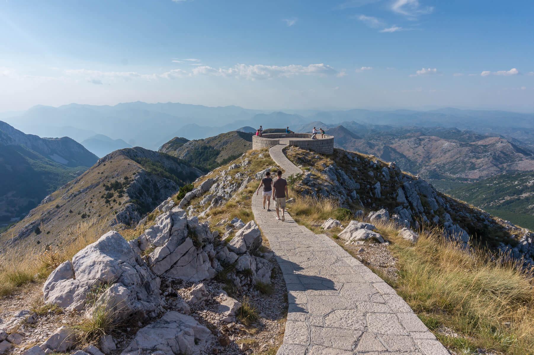 Lovcenin kansallispuisto, Montenegro
