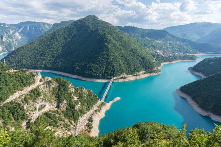 Piva-järvi, Montenegro