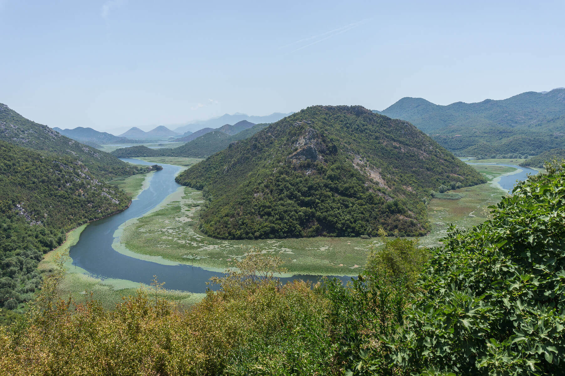 Skadar-järvi, Montenegro