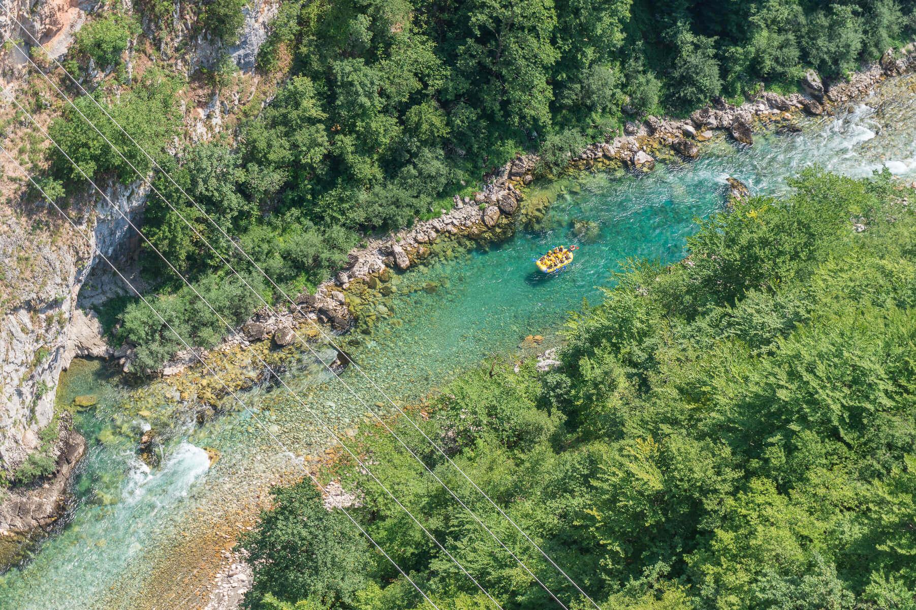 Tara-joki, Montenegro